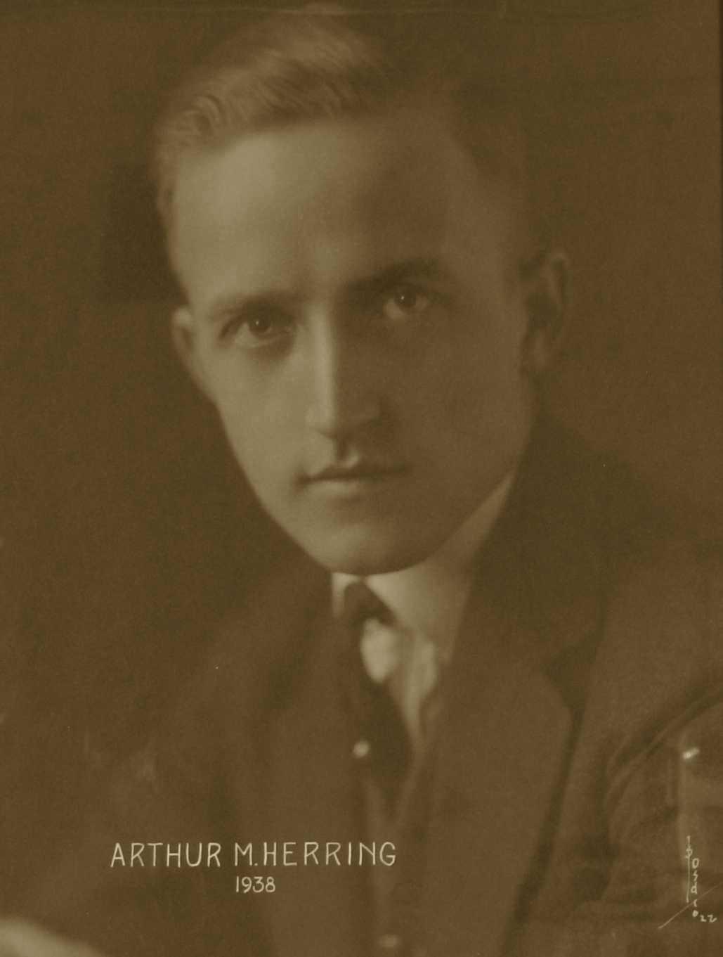 Arthur M. Herring, 1938
