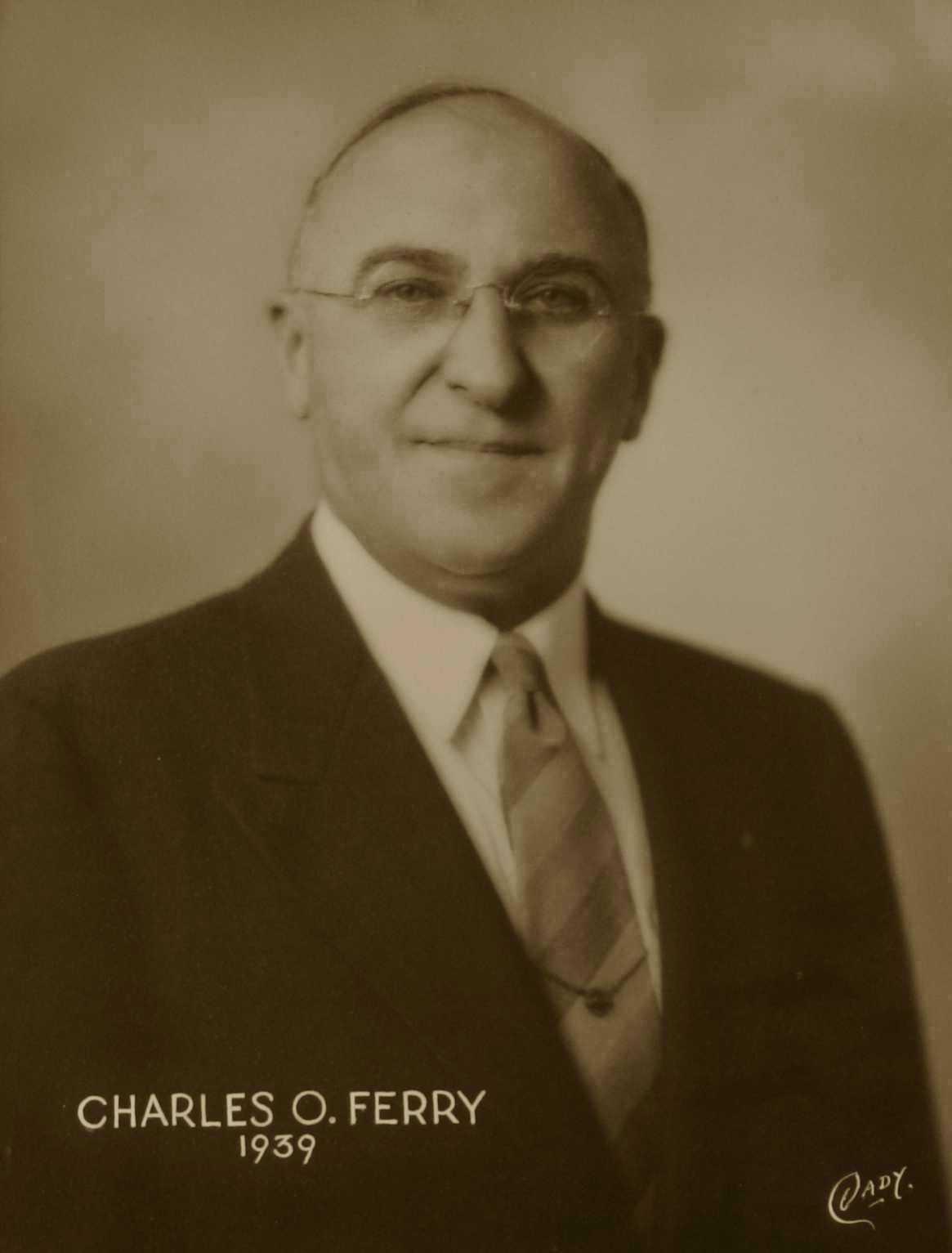 Charles O. Ferry, 1939