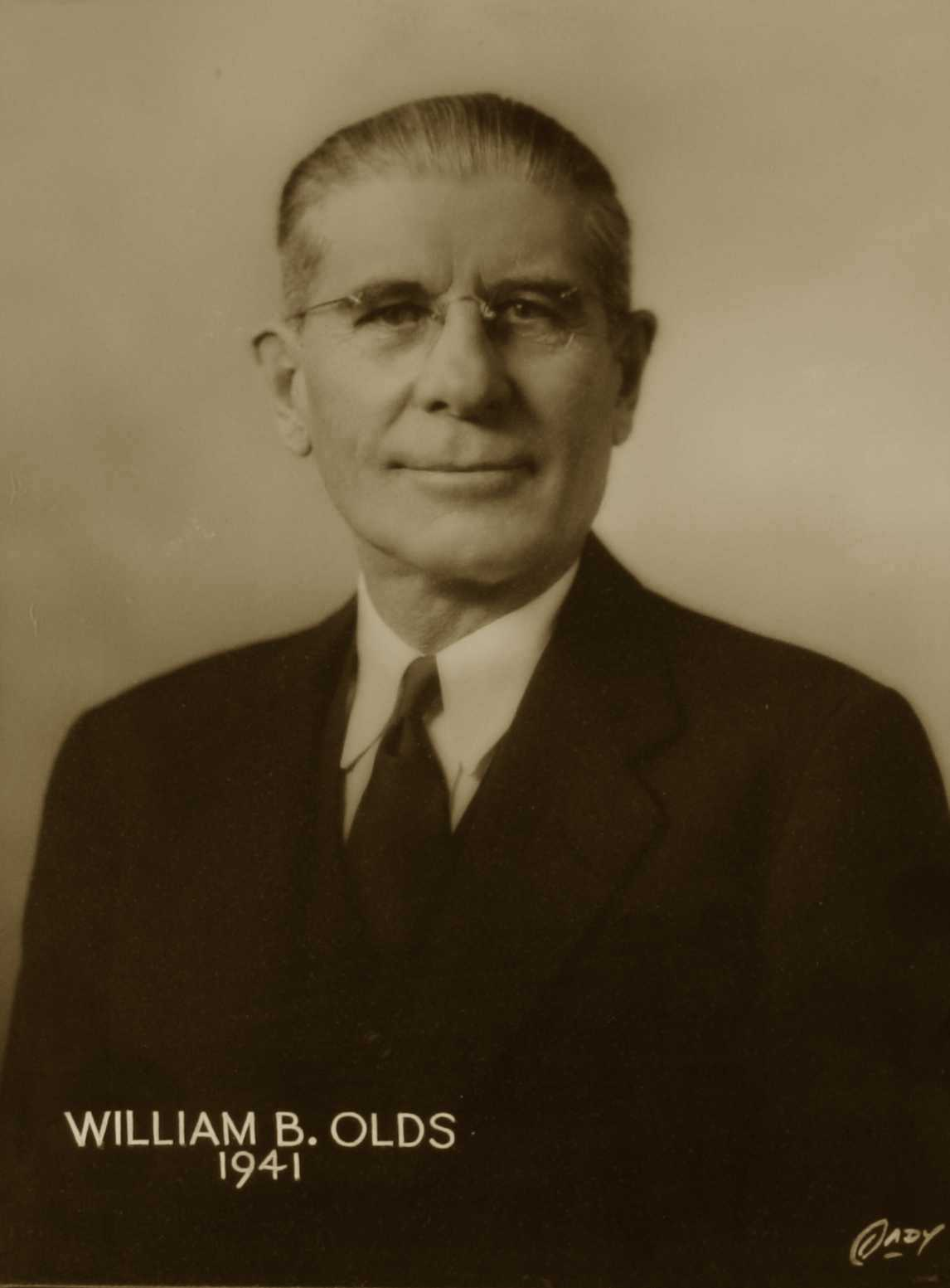 William B. Olds, 1941