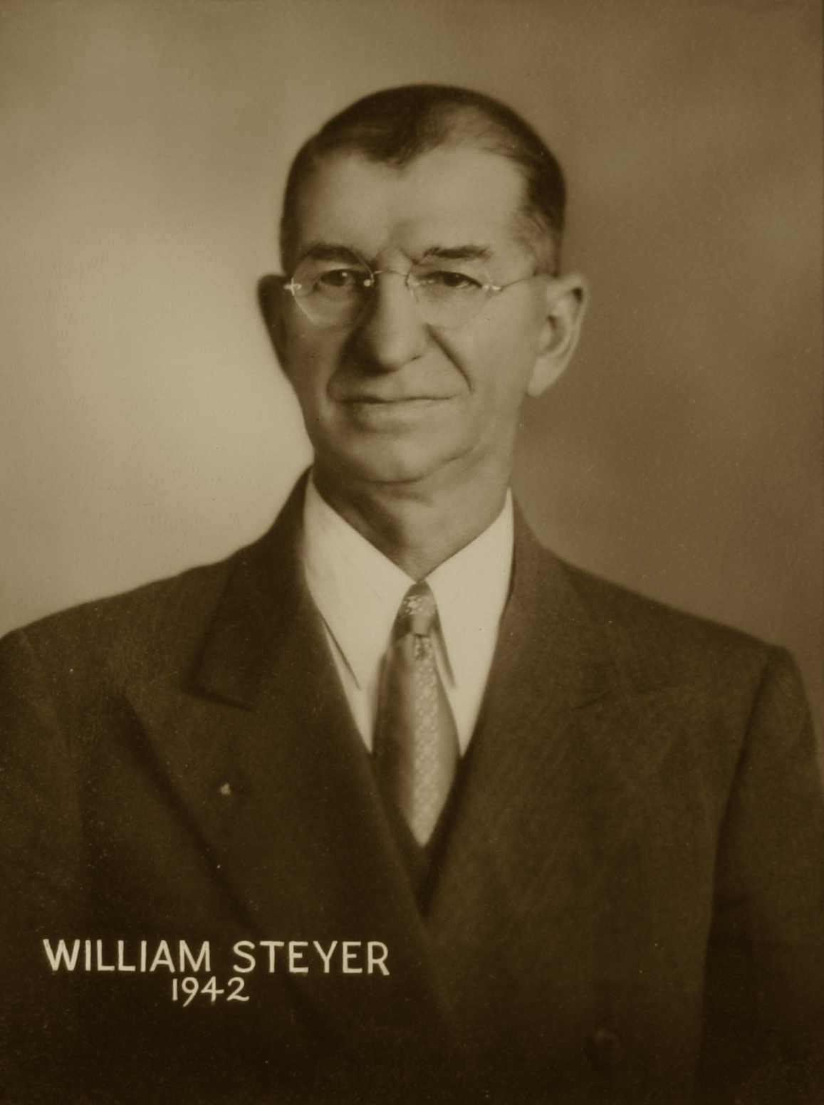William Steyer, 1942