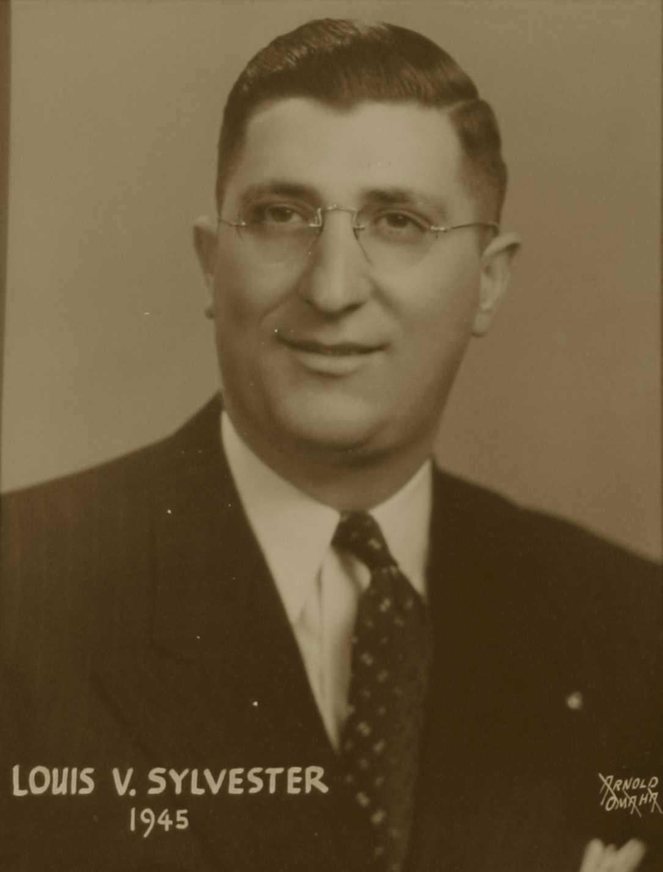 Louis V. Sylvester, 1945