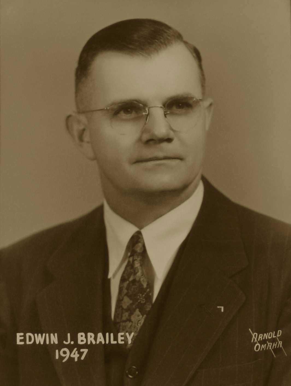 Edwin J. Brailey, 1947