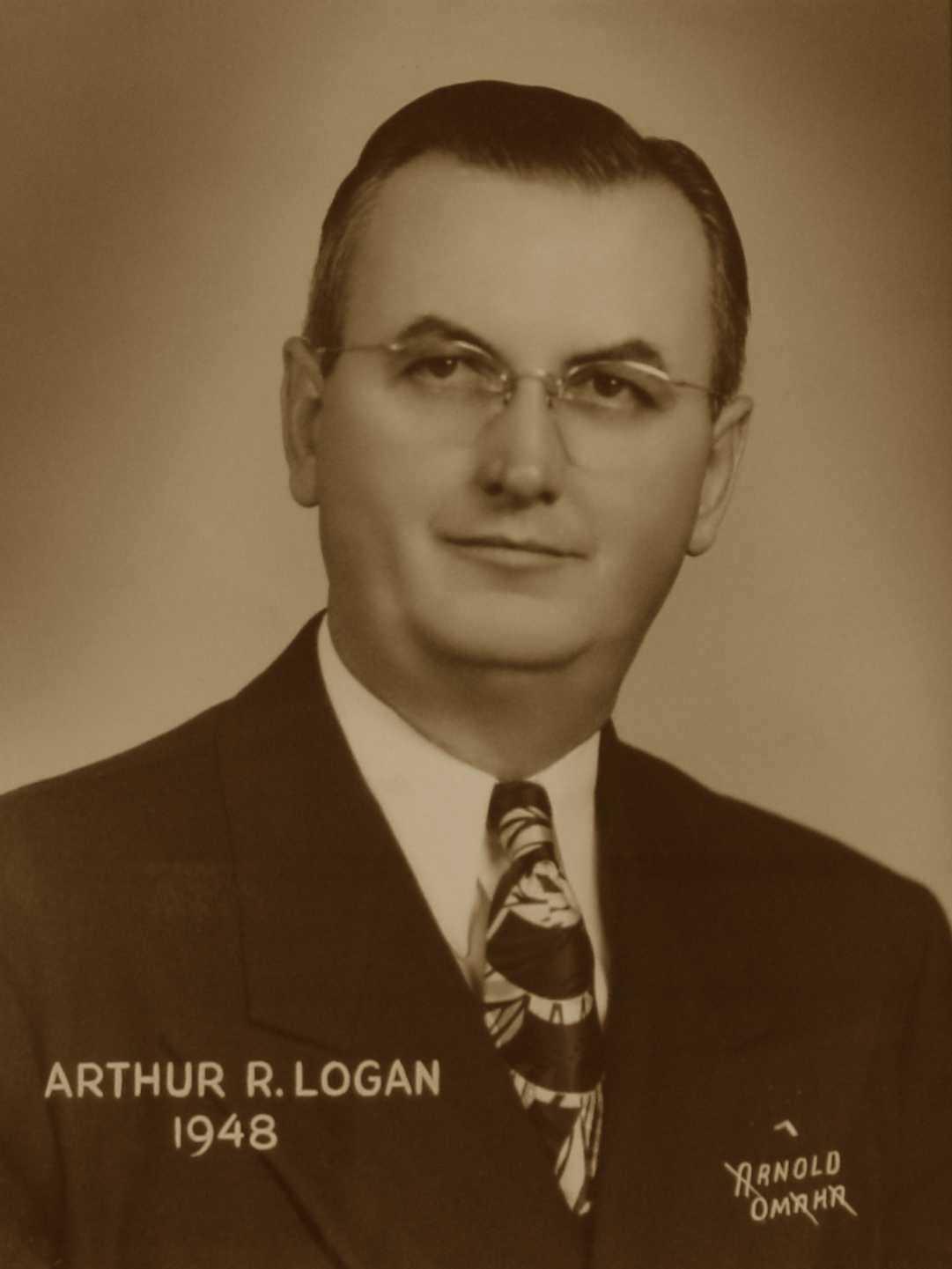 Arthur R. Logan, 1948