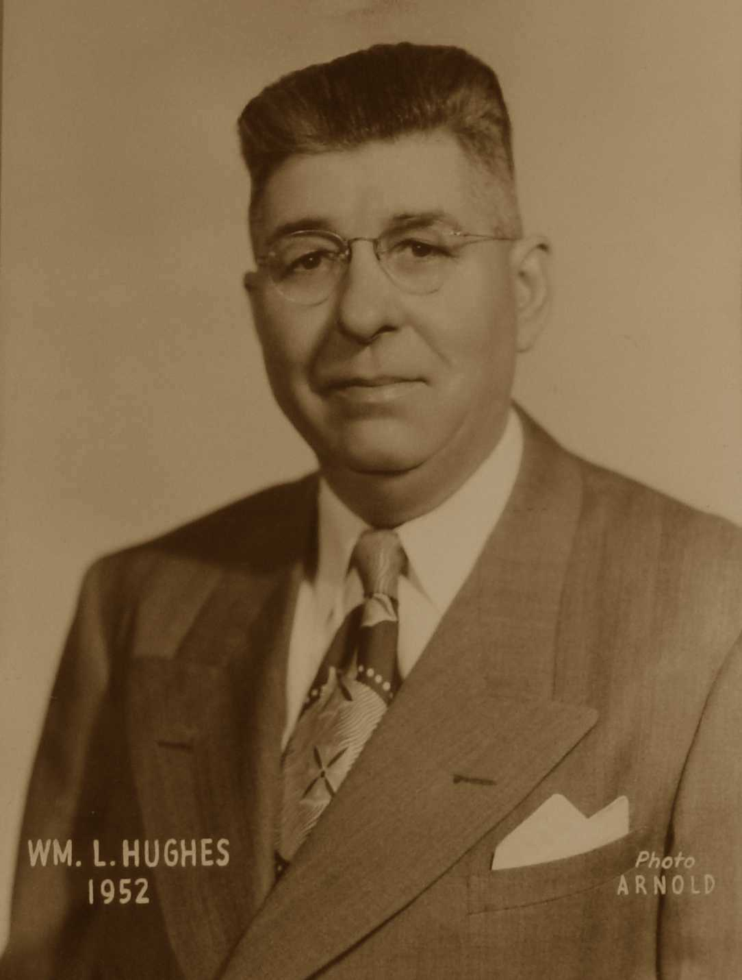 William L. Hughes, 1952
