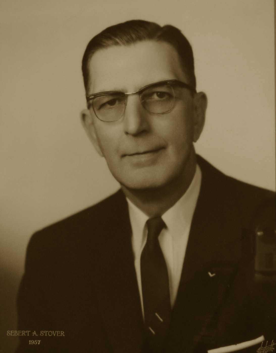 Sebert A. Stover, 1957