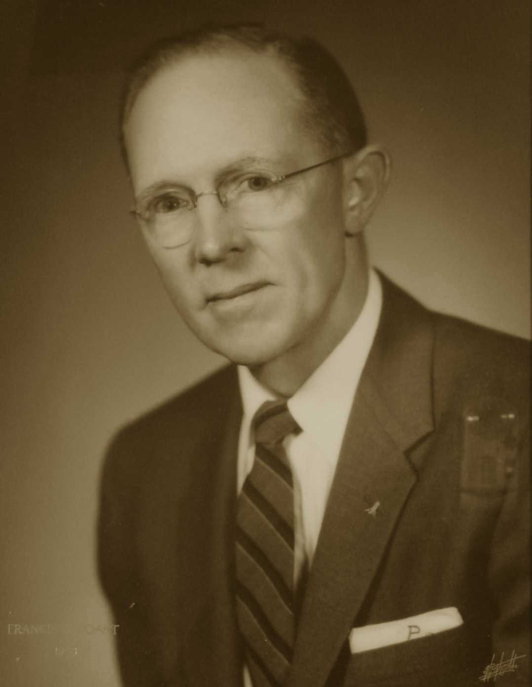 Frances W. Poast, 1958