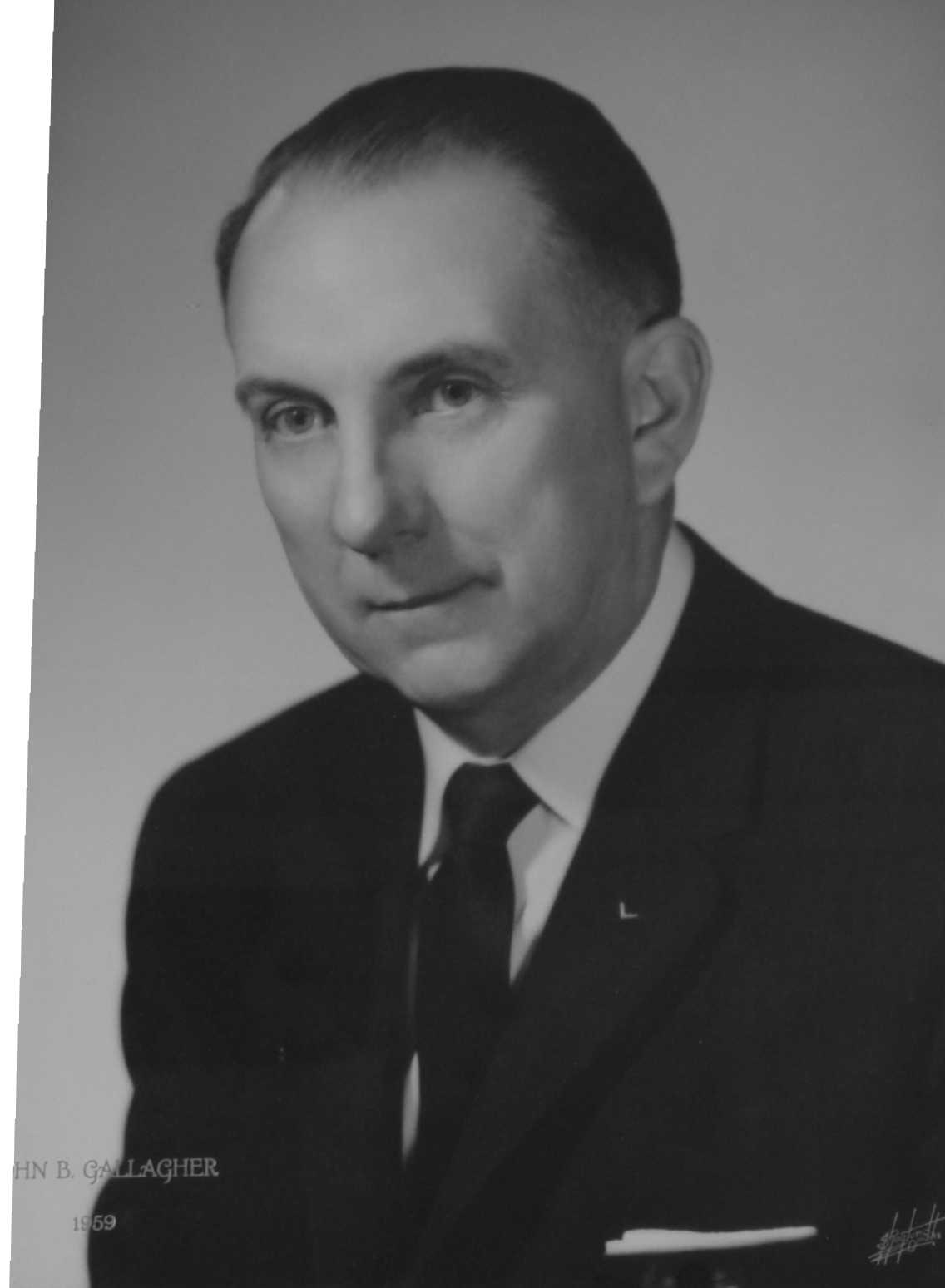 John B. Gallagher, 1959