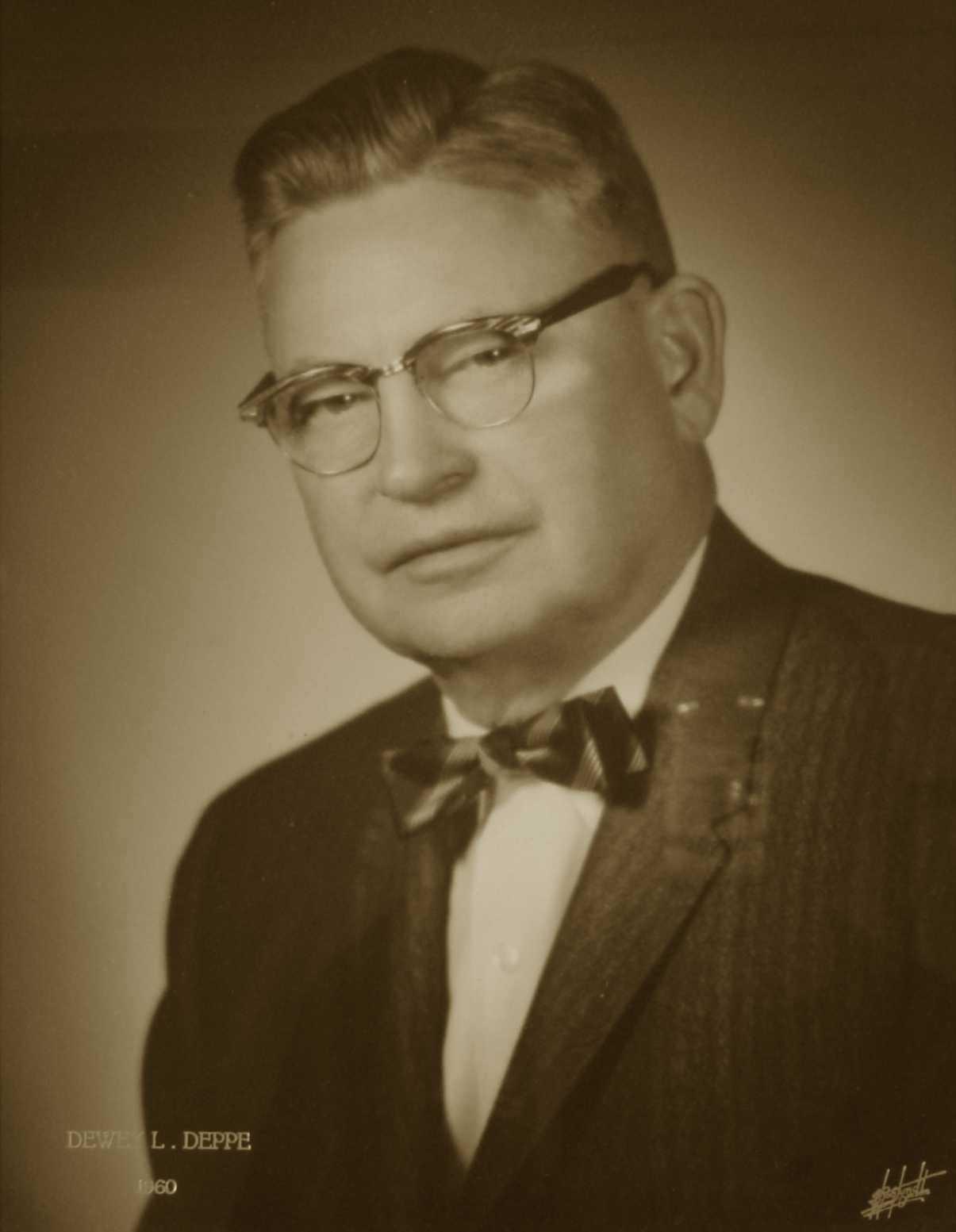 Dewey L. Deppe, 1960
