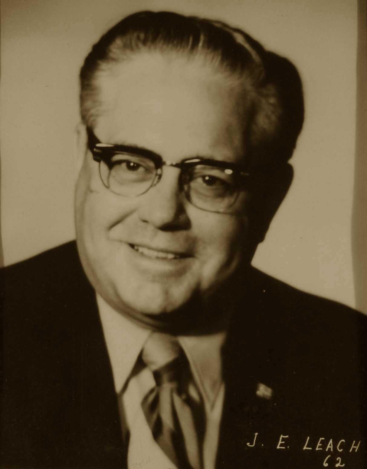 J. E. Leach, 1962