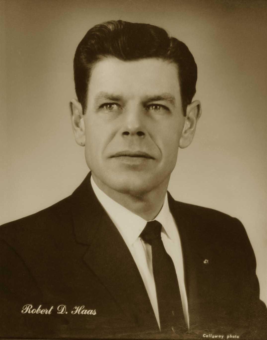Robert D. Haas, 1966