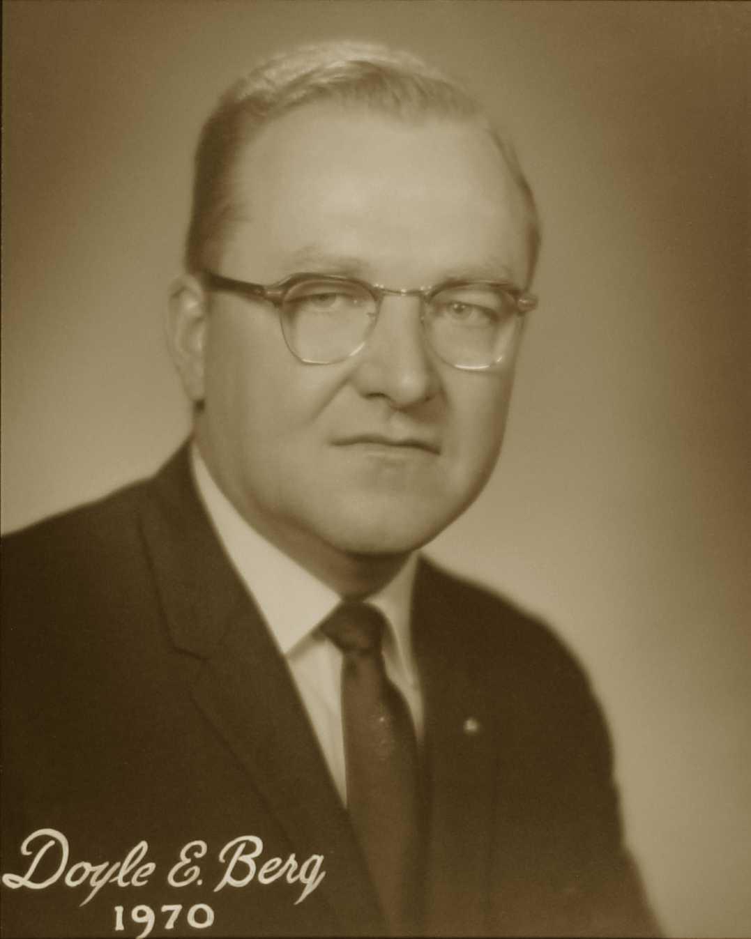 Doyle E. Berg, 1970