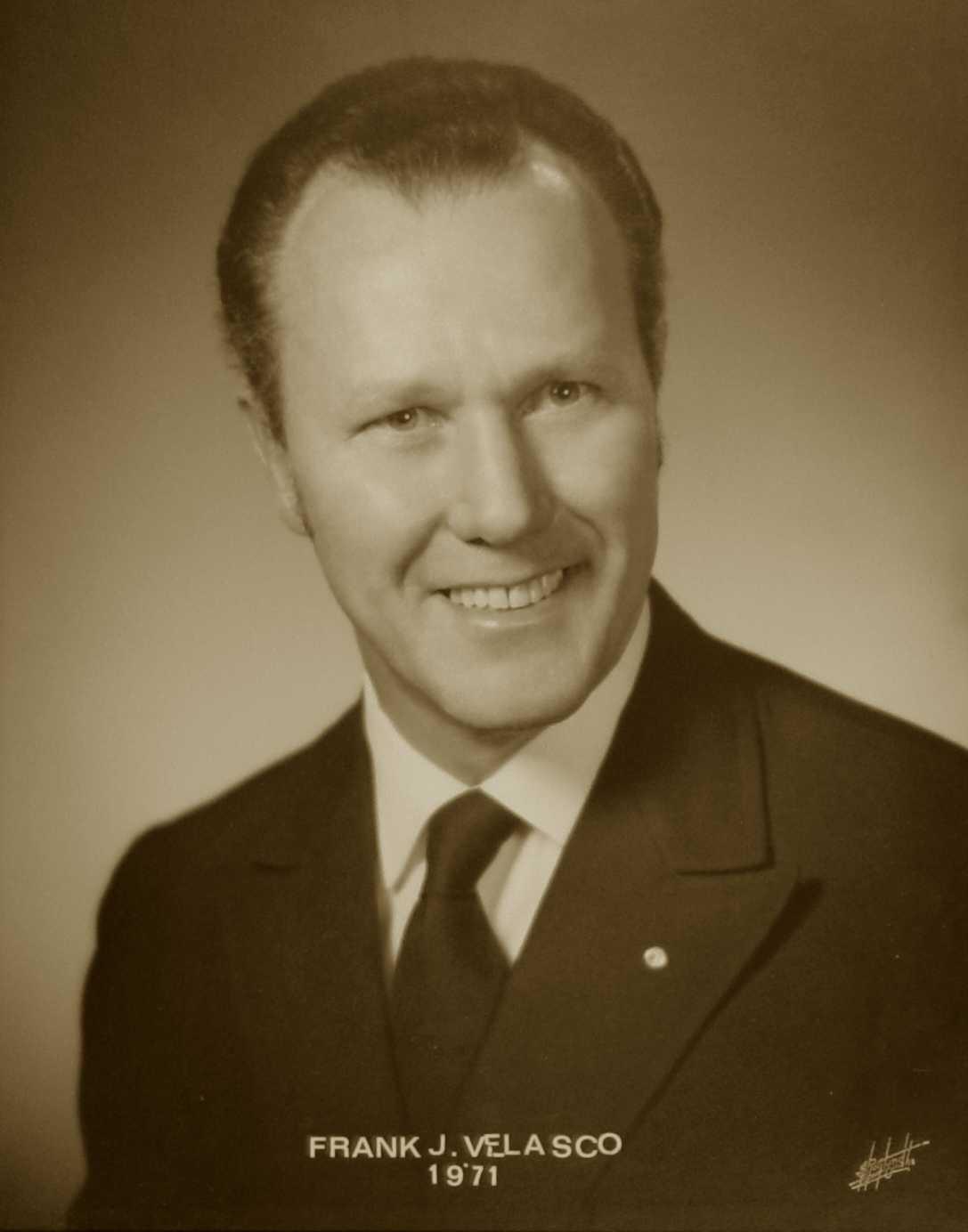 Frank J. Velasco, 1971