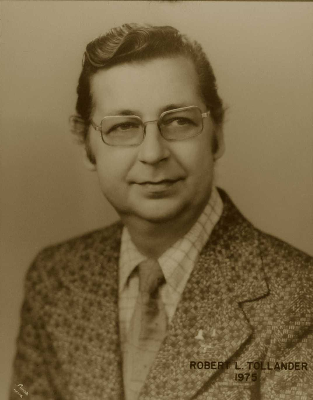 Robert L. Tollander, 1975