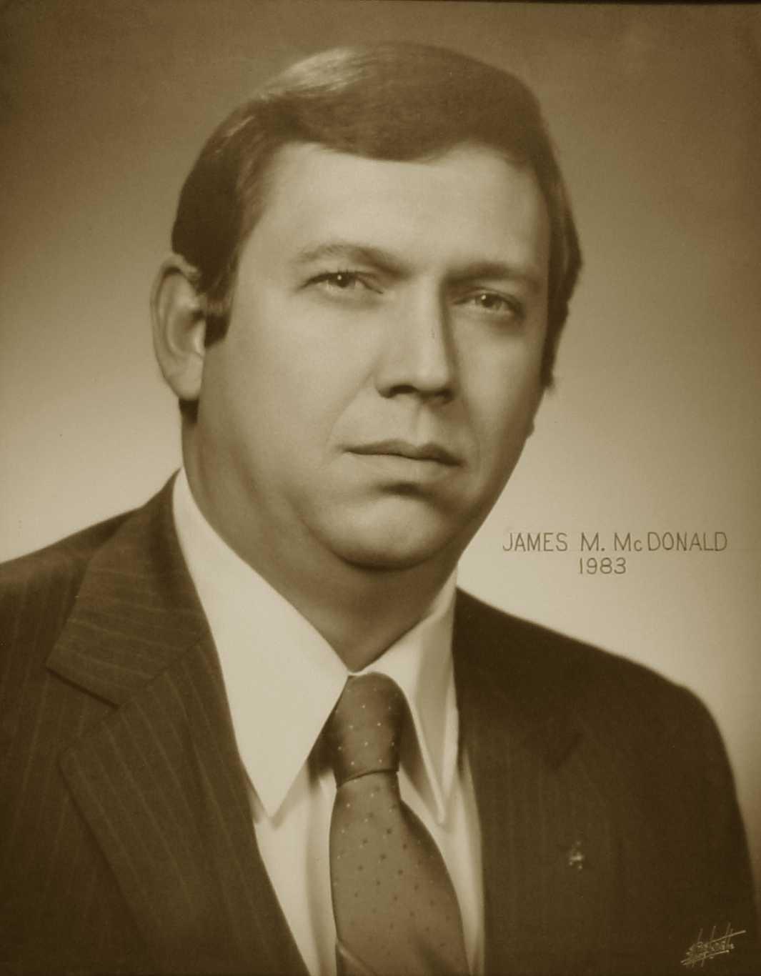 James M. McDonald, 1983