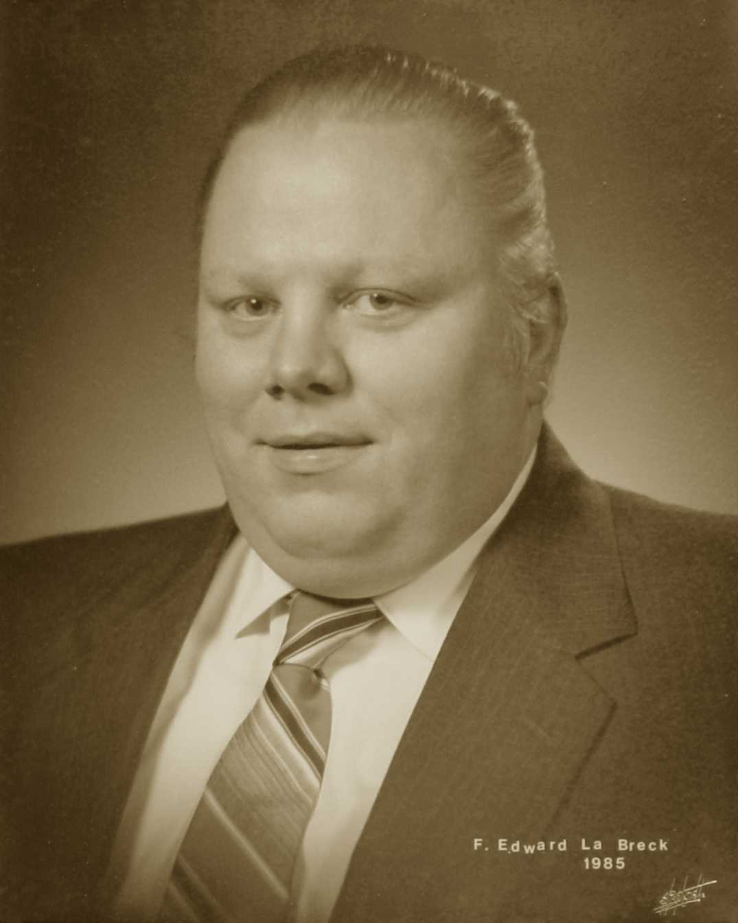 F. Edward LaBreck, 1985