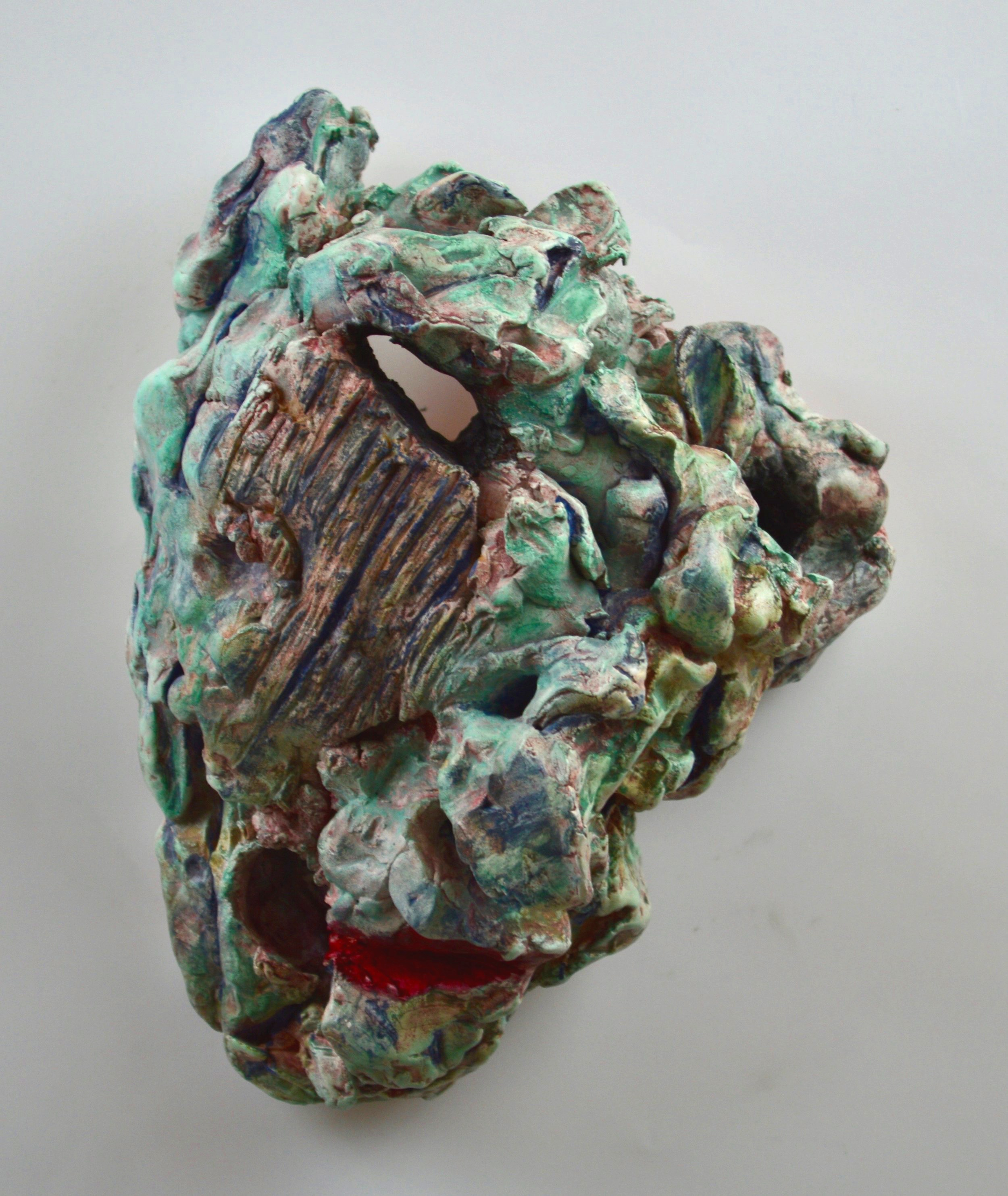 fired stoneware, oxides