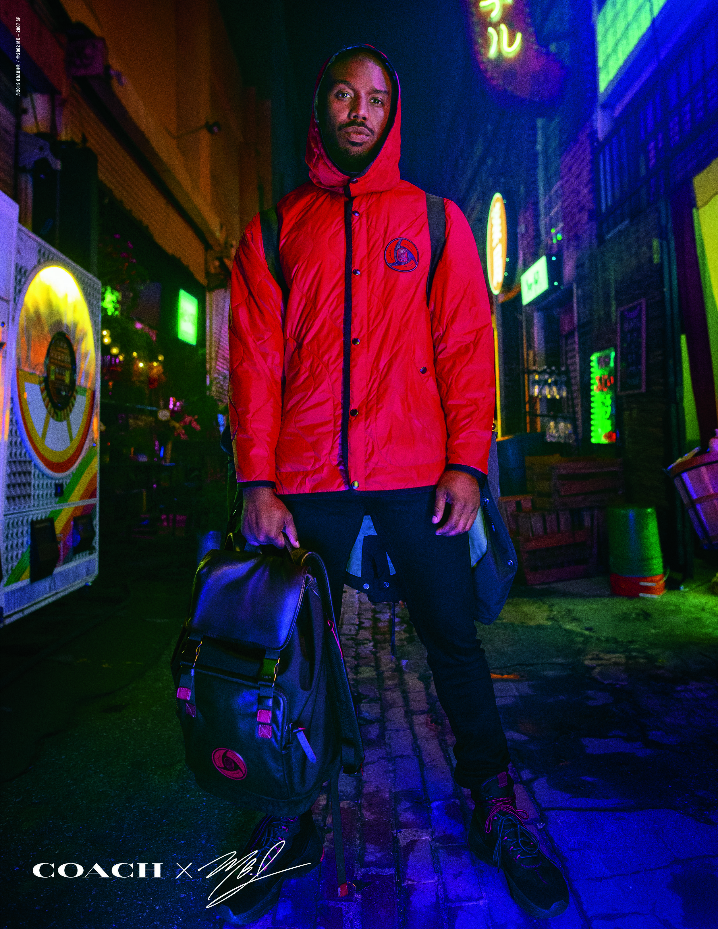 """""""With my name on this collection, it was important to design pieces that represent my culture influences and my community; pieces that I could see my friends, family and fans wearing with pride."""" - - Michael b. Jordan"""