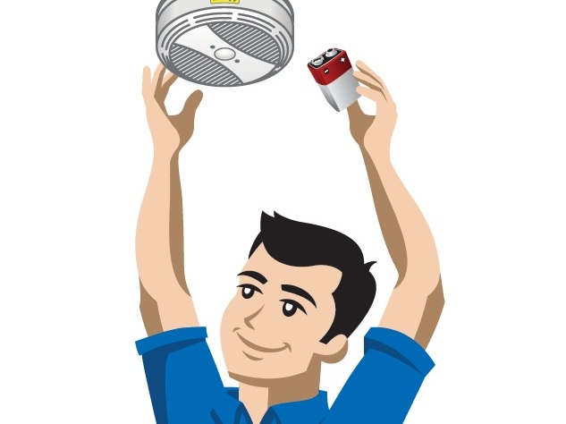 Smoke Detector Battery Replacement -