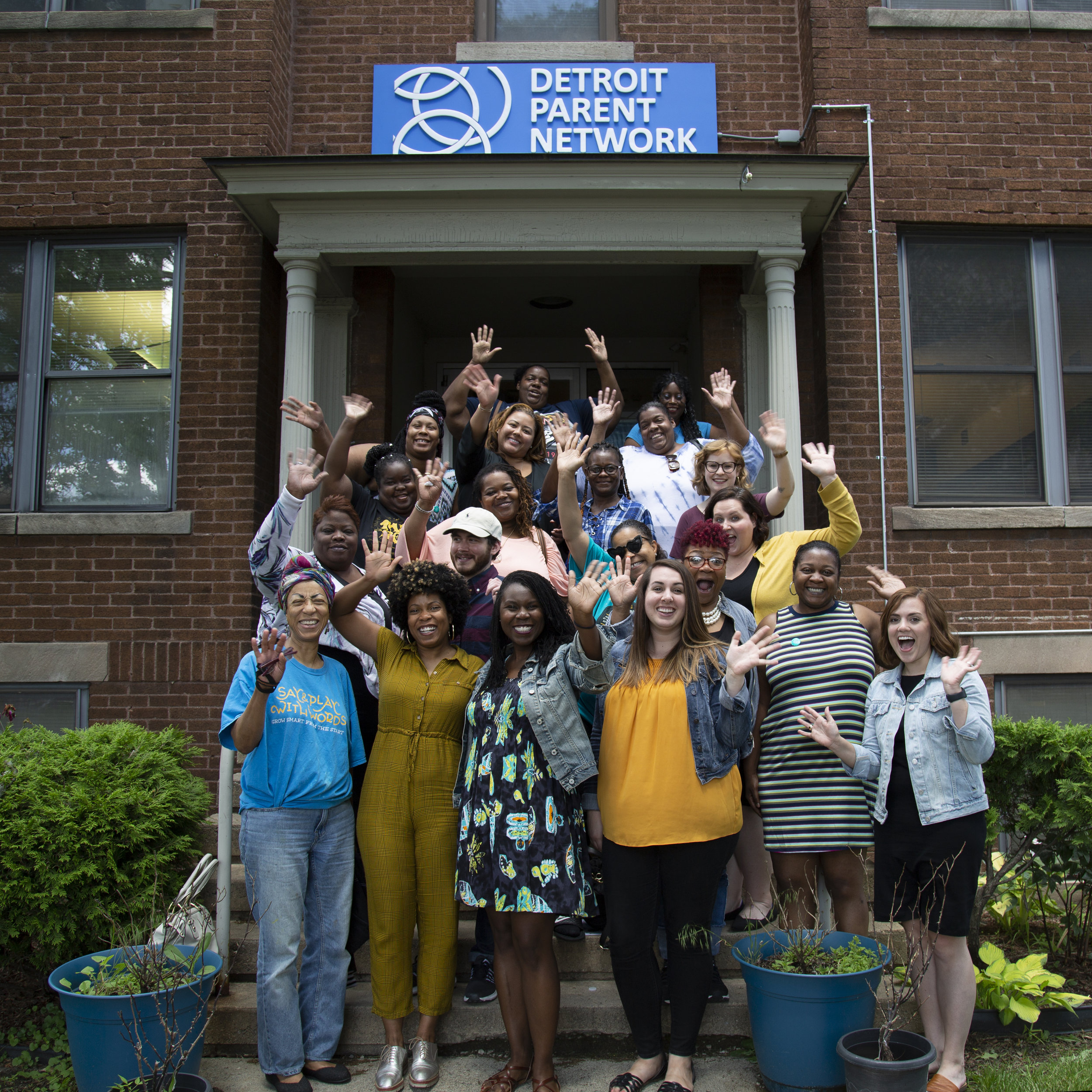 Tomorrow Builders discussed the importance of parent power and creative approaches to outreach with members of the Detroit Parents Network during the Learning Trip to Detroit this June.