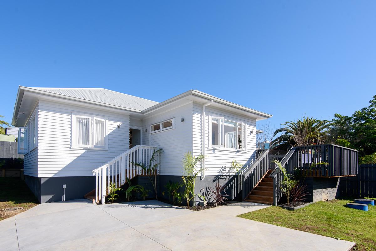 Property renovation photos Auckland
