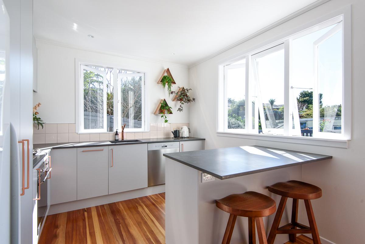 Kitchen renovation photos Auckland