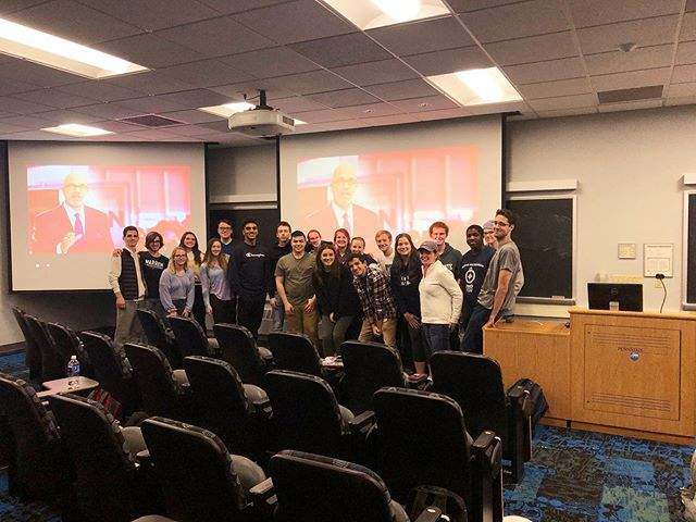 The Pennsylvania College Democrats are tuned into the 4th Democratic Presidential Debate statewide! Shoutout to the @etowndems for the hilarious idea in the last picture!  Donate to our Federation using the link in our bio!