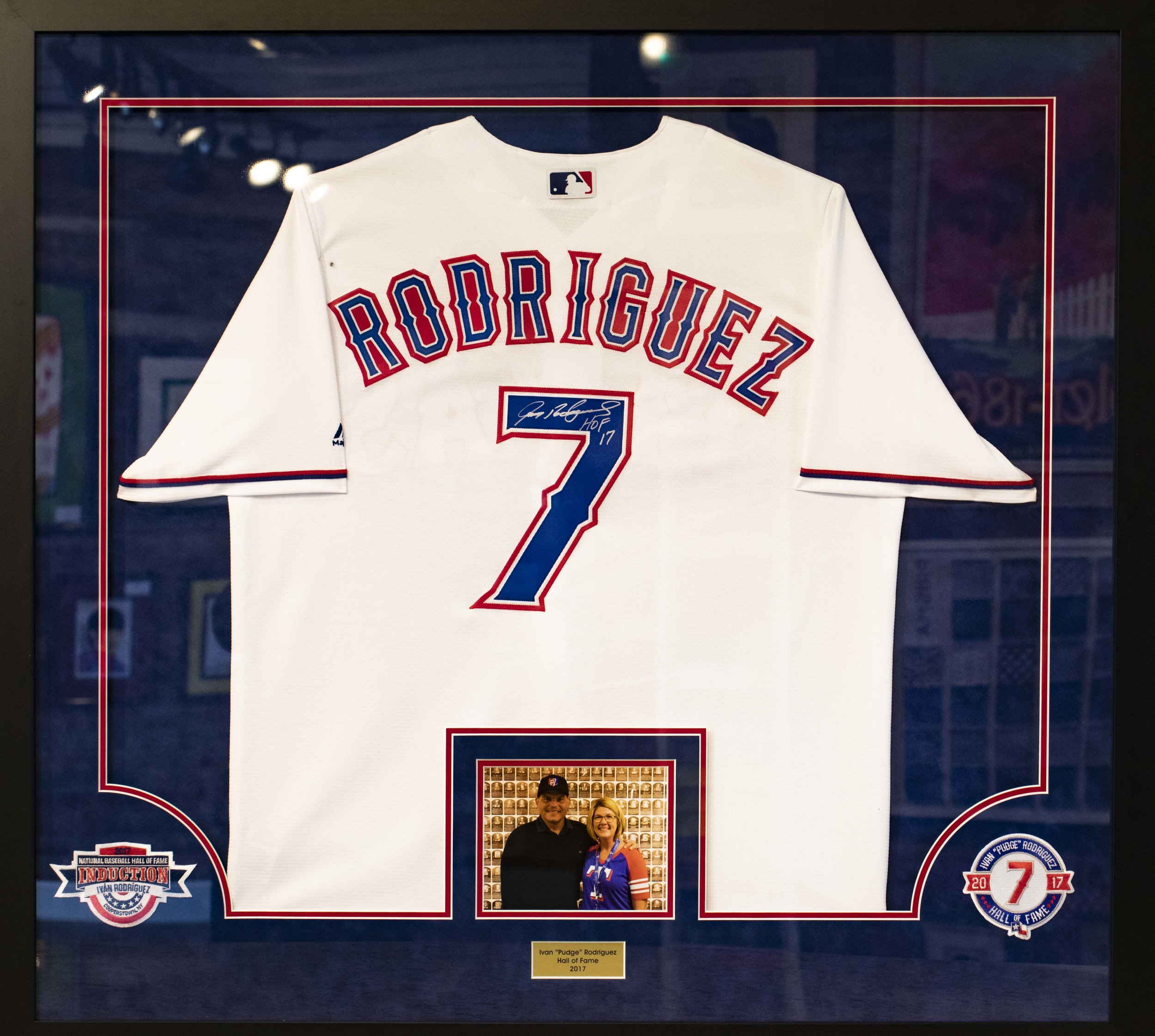 SPORTS JERSEYS & MEMORABILIA SHADOWBOXES