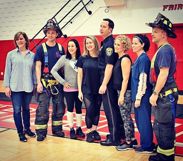 Thanks to our Fairfield first responders for all they do to keep us safe and also for helping represent this amazing community in our latest MOMbies performance! We appreciate all you do! #mombies #mombiesorg #fairfieldct #fairfieldmoms #instaflashmob #momscandoanything #thriller #thisisme #thegreatestshowman #survivor #fairfieldu #gostags #donate #dancetodonate #thecancercouchfoundation #breastcancer #breastcancersucks #breastcancerawareness #breastcancercare #breastcancerfighter #firstresponders #breastcancersurvivor #firefighters #nurse #police #breastcancerresearch #breastcancerprevention #breastcancerfight