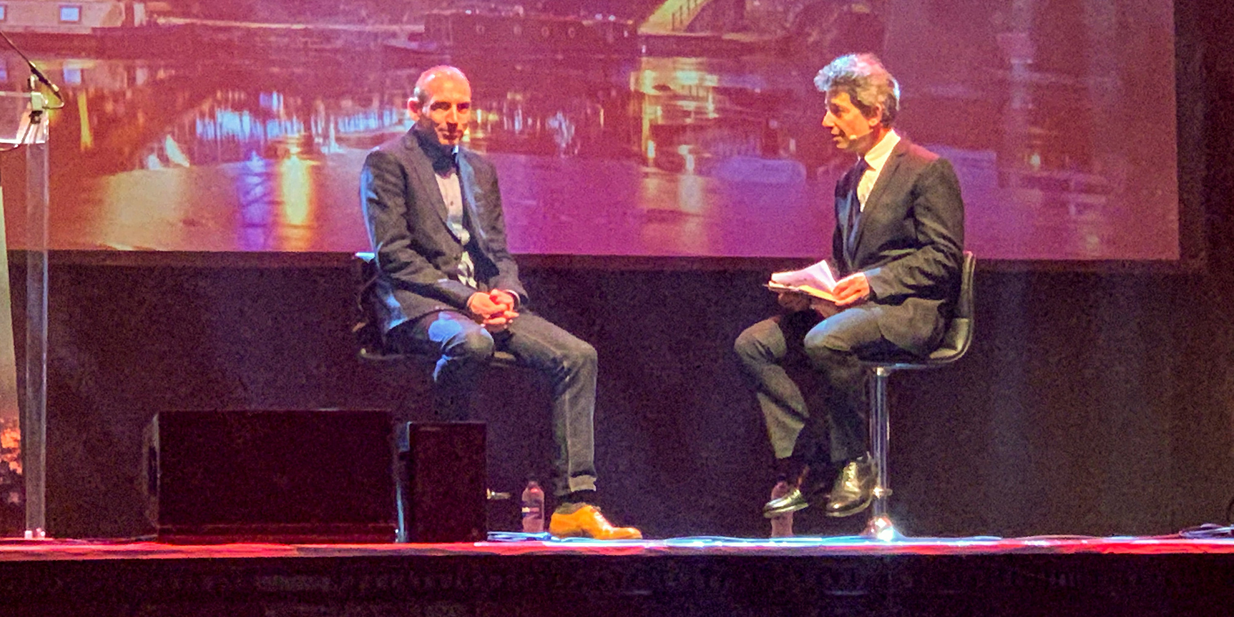 David Moss and David Rowan at the Northern Tech Awards 2019
