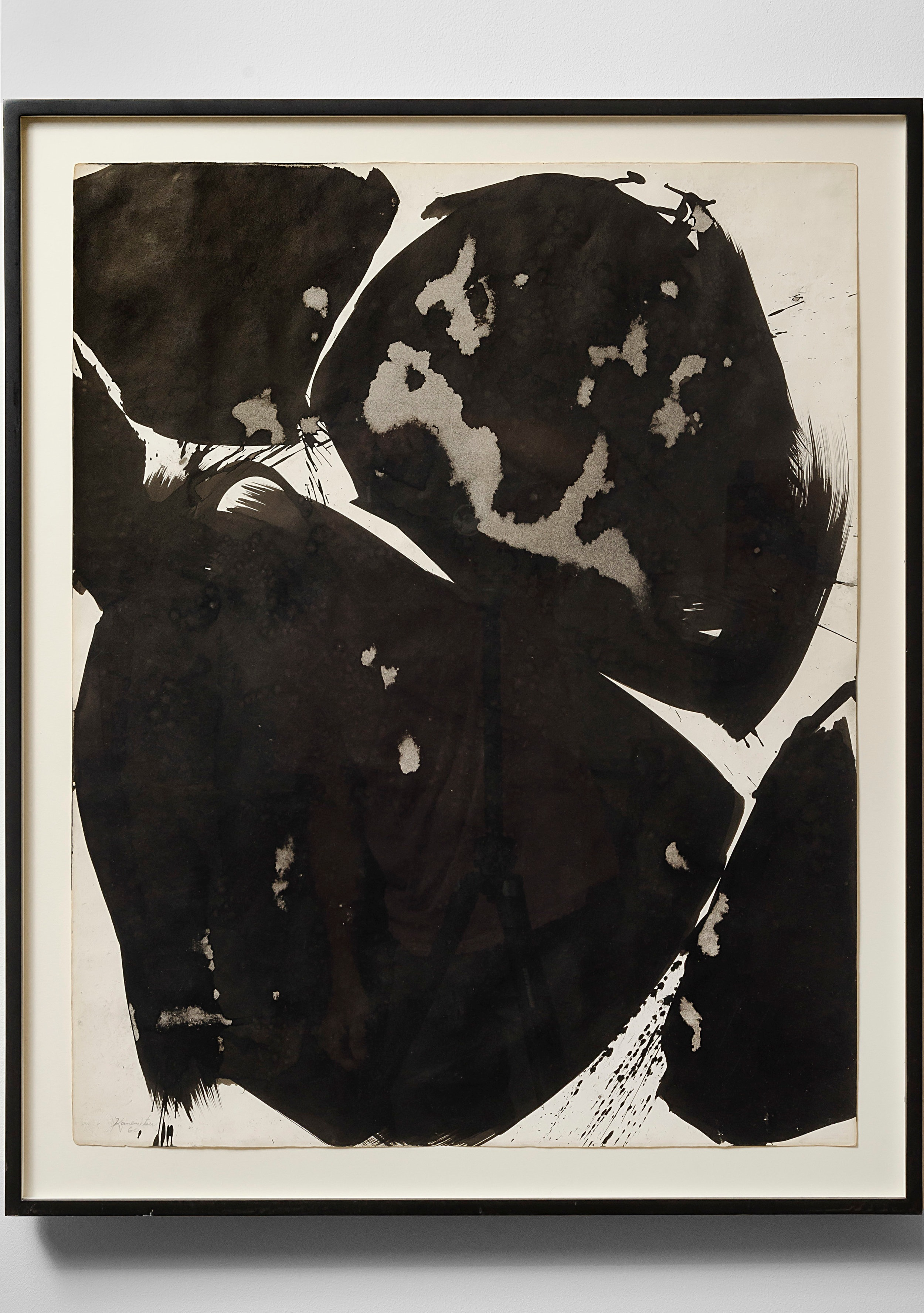 Summer #20   1960  sumi ink on paper  29 x 23 inches, 73.7 x 58.4 centimeters