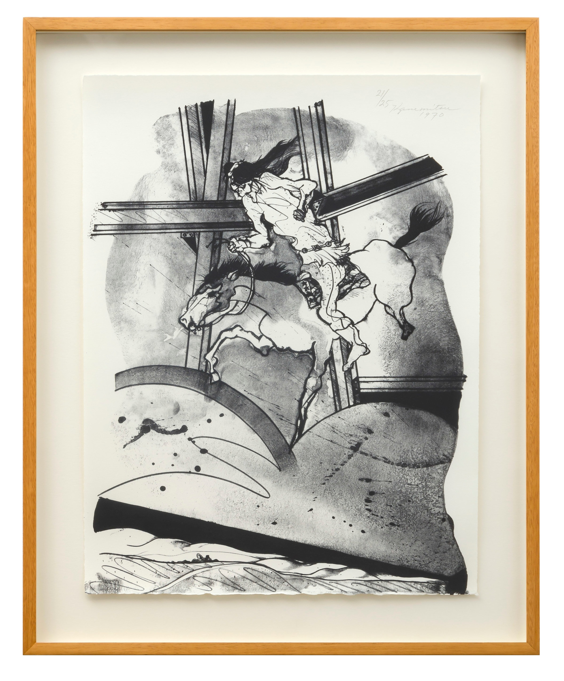 Metamorphosis L.A. I   1970  lithograph  20 x 15 inches, 50.8 x 38.1 centimeters