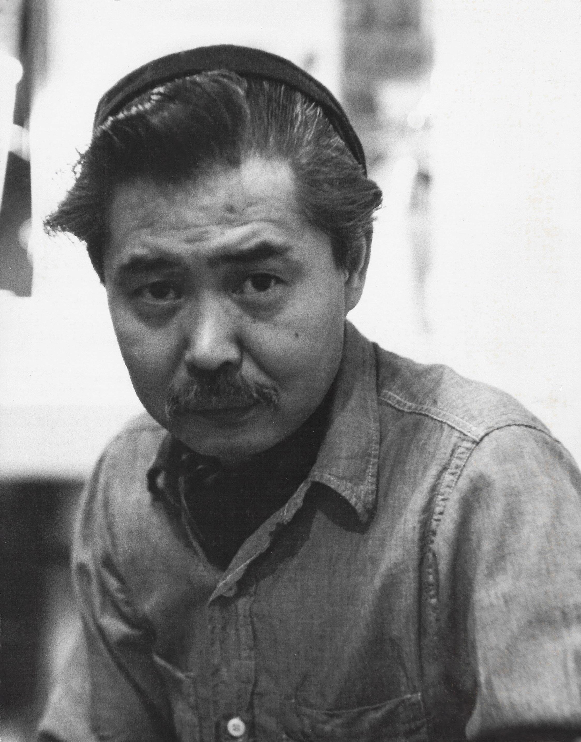 Kanemitsu in New York, 1956.