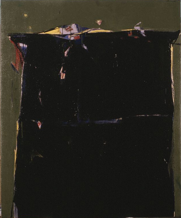 Untitled   1956  oil on canvas  60 x 50 inches