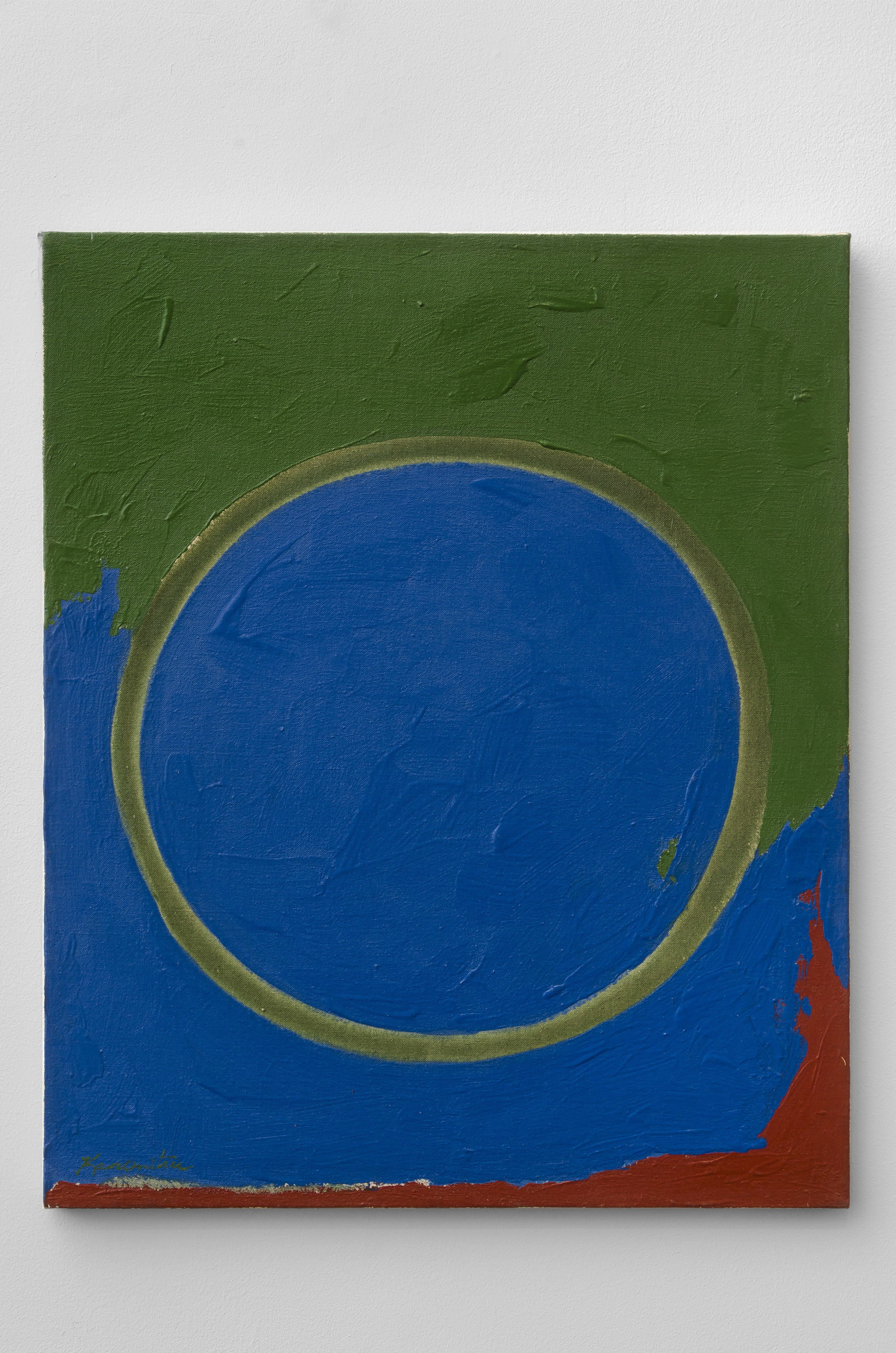 Opening   1962  acrylic on canvas  24 x 20 inches, 61 x 76.2 centimeters