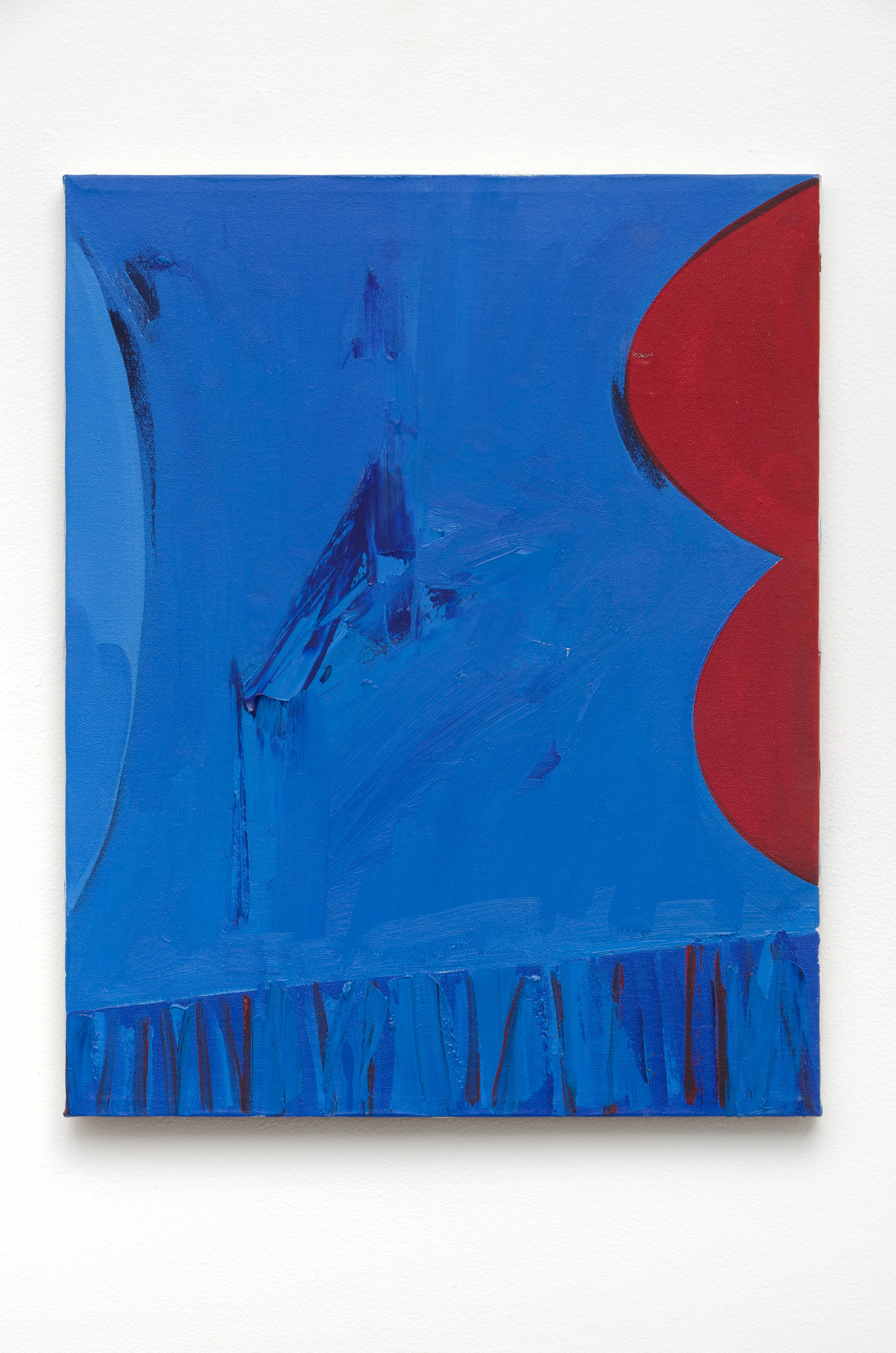 Untitled (Triptych) , c. 1960s acrylic on canvas 20 x 48 inches; 50.8 x 121.9 centimeters