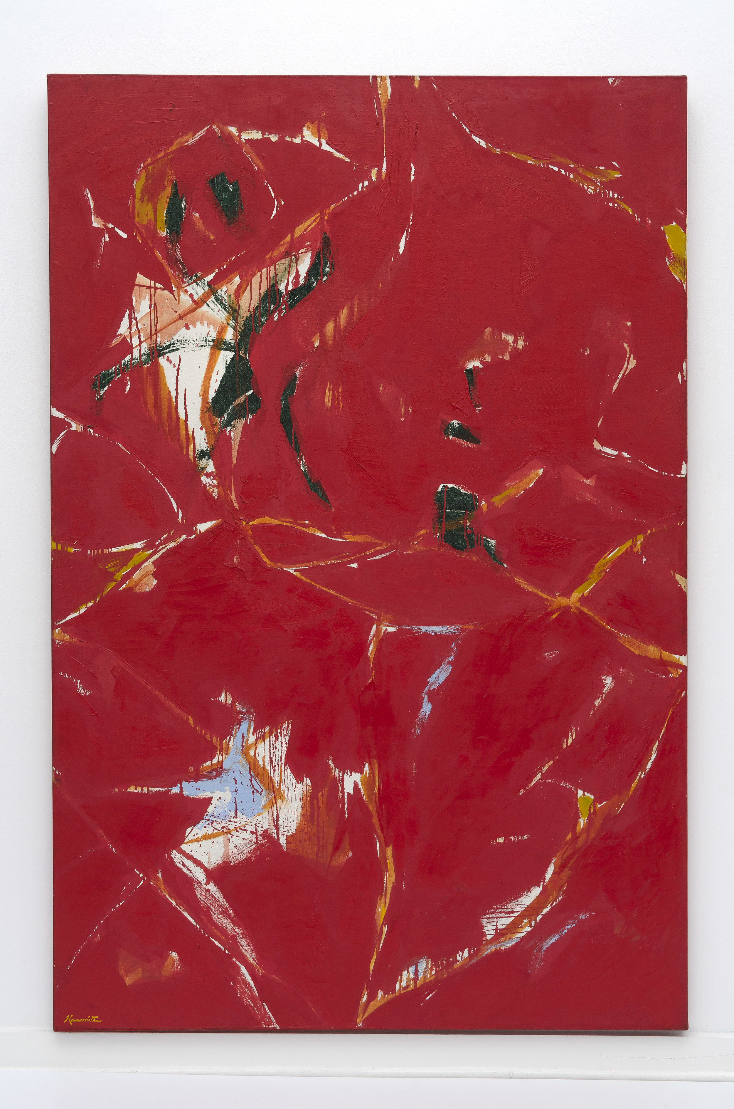 Tavern-on-Red , 1960 oil on canvas 72 x 48 inches; 182.9 x 121.9