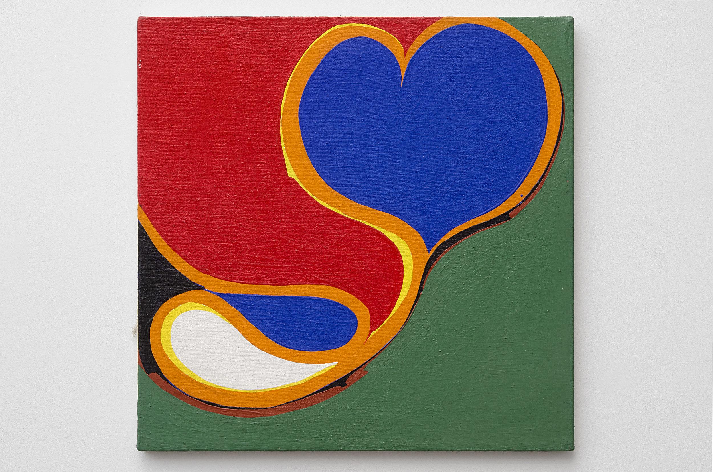 Hidalgo #11 , 1965 acrylic on canvas 20 x 20 inches; 50.8 x 50.8 centimeters