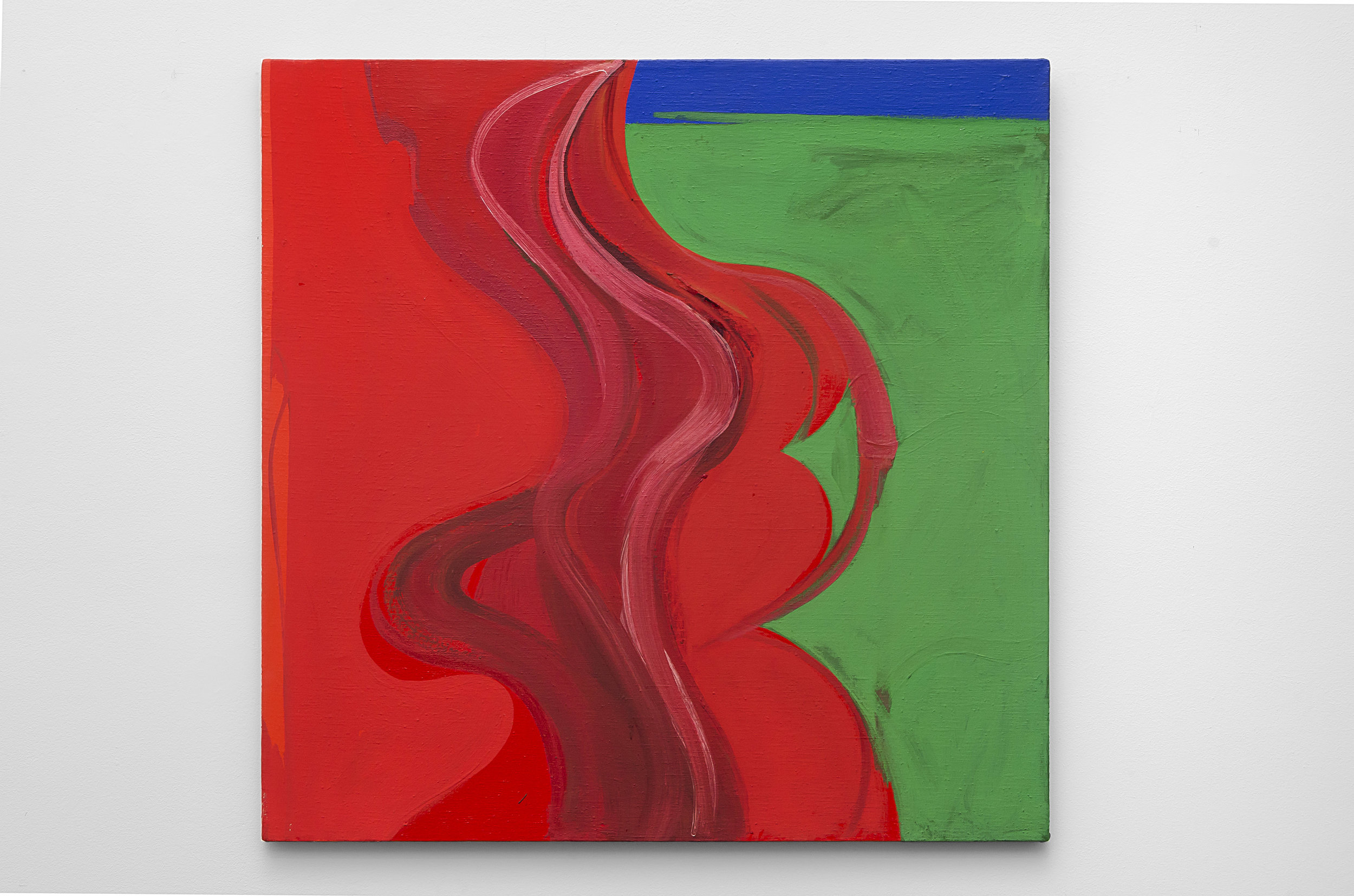 Untitled (G) , c. 1967 acrylic on canvas 30 x 30 inches; 76.2 x 76.2 centimeters