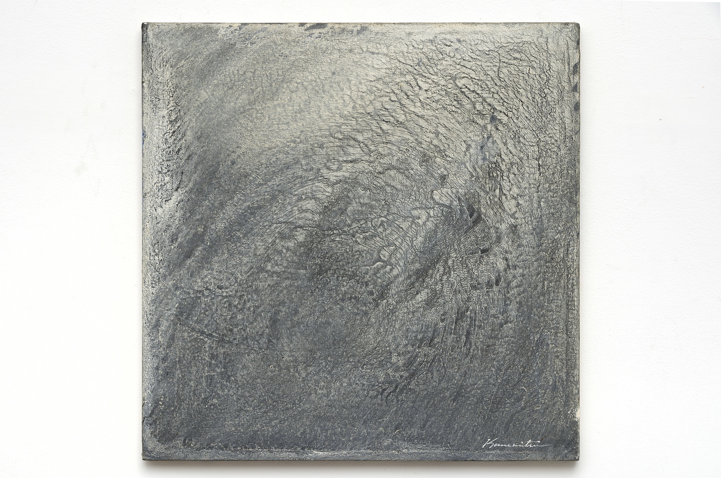 Hiroshima , 1964 acrylic on canvas 24 x 24 inches; 61 x 61 centimeters
