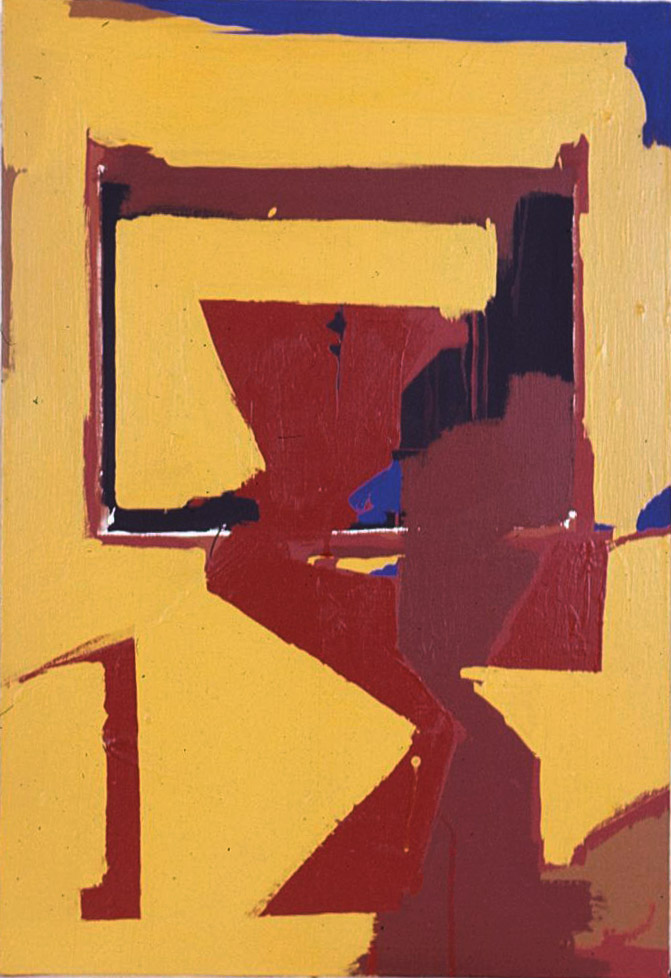 A-1 , 1963 acrylic on canvas 32 x 22 inches; 81.3 x 55.9 centimeters