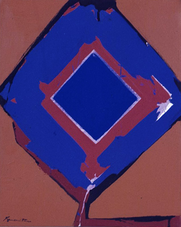 A-4 , 1963 acrylic on canvas 20 x 16 inches; 50.8 x 40.6 centimeters