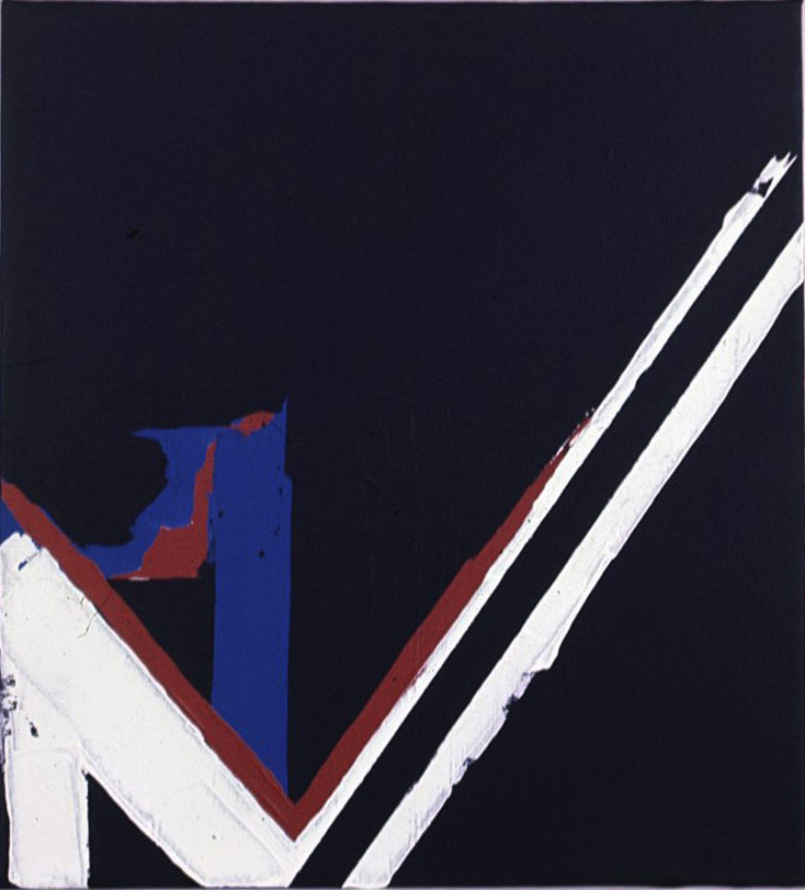 A-4 , 1963 acrylic on canvas 20 x 18 inches; 50.8 x 45.7 centimeters