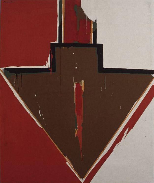 Arrow #11 , 1964 acrylic on canvas 60 x 50 inches; 152.4 x 127 centimeters