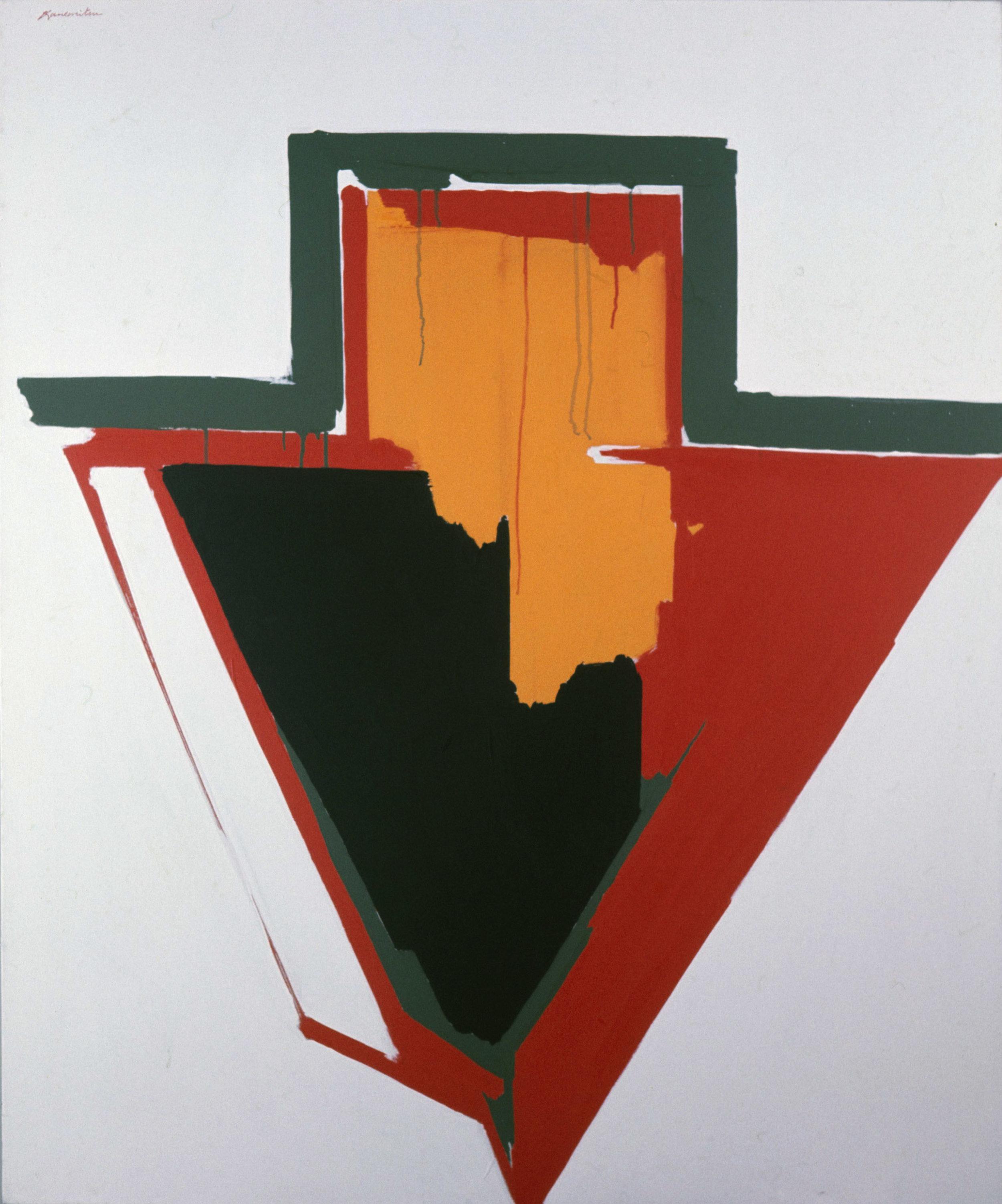 Arrow #11 , 1964 acrylic on canvas