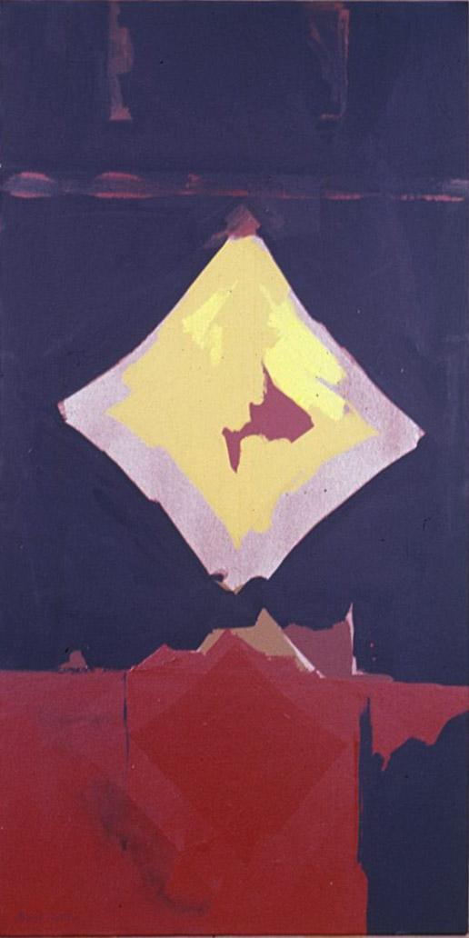 B-1 , 1962 acrylic on canvas