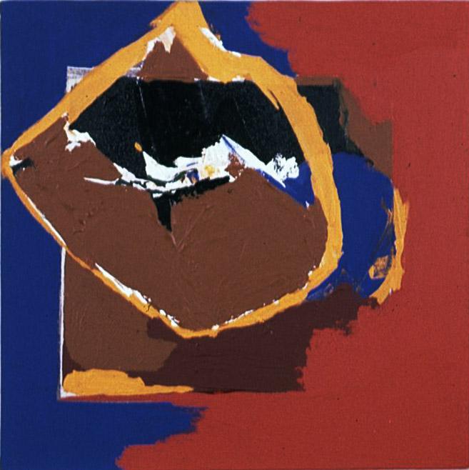 Eclipse , 1963 acrylic on canvas