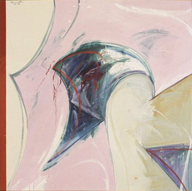 May Daydream , 1969-70 oil on canvas 65 x 65 inches; 165.1 x 165.1 centimeters