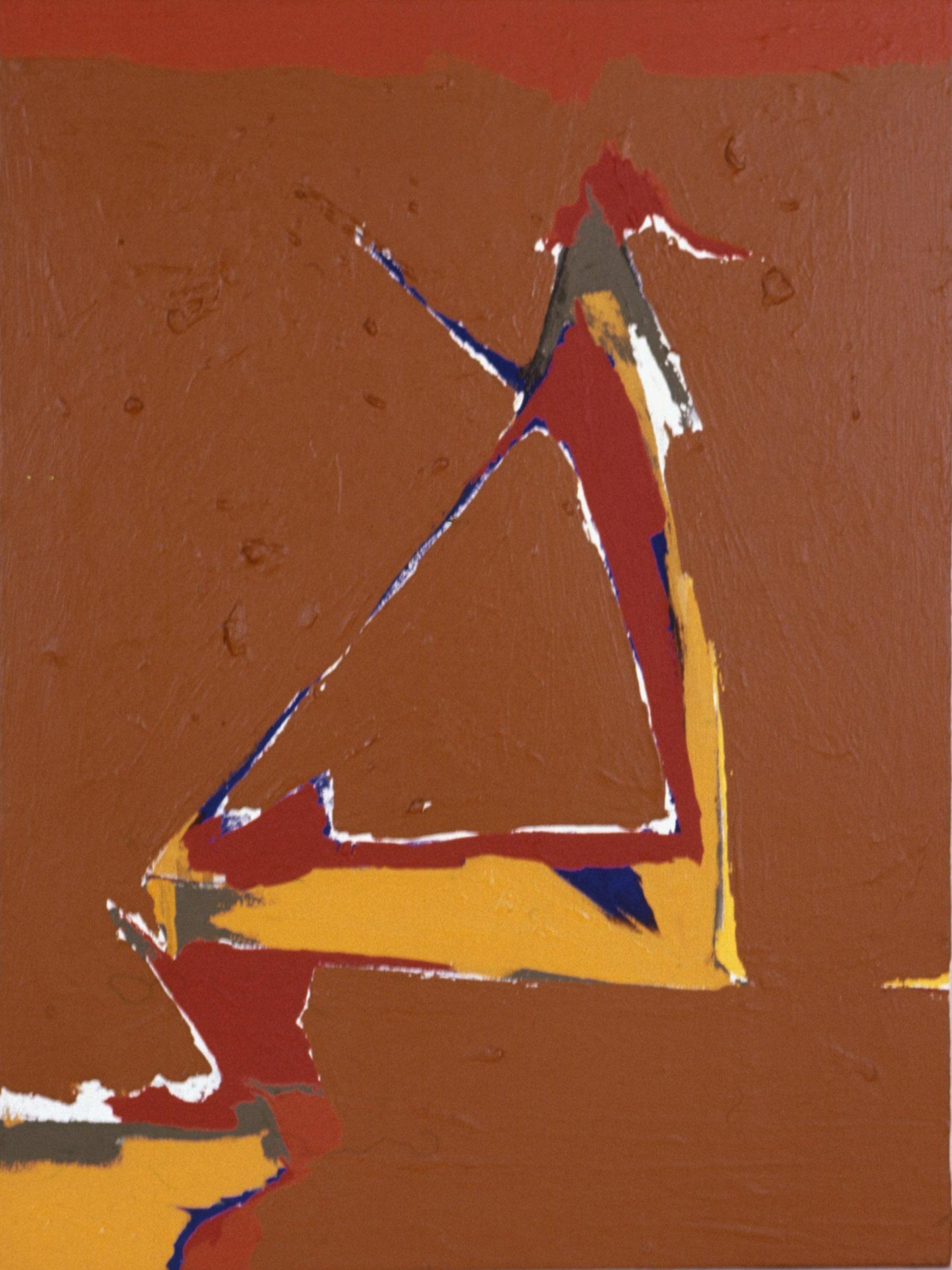 S-14 , 1963 acrylic on canvas