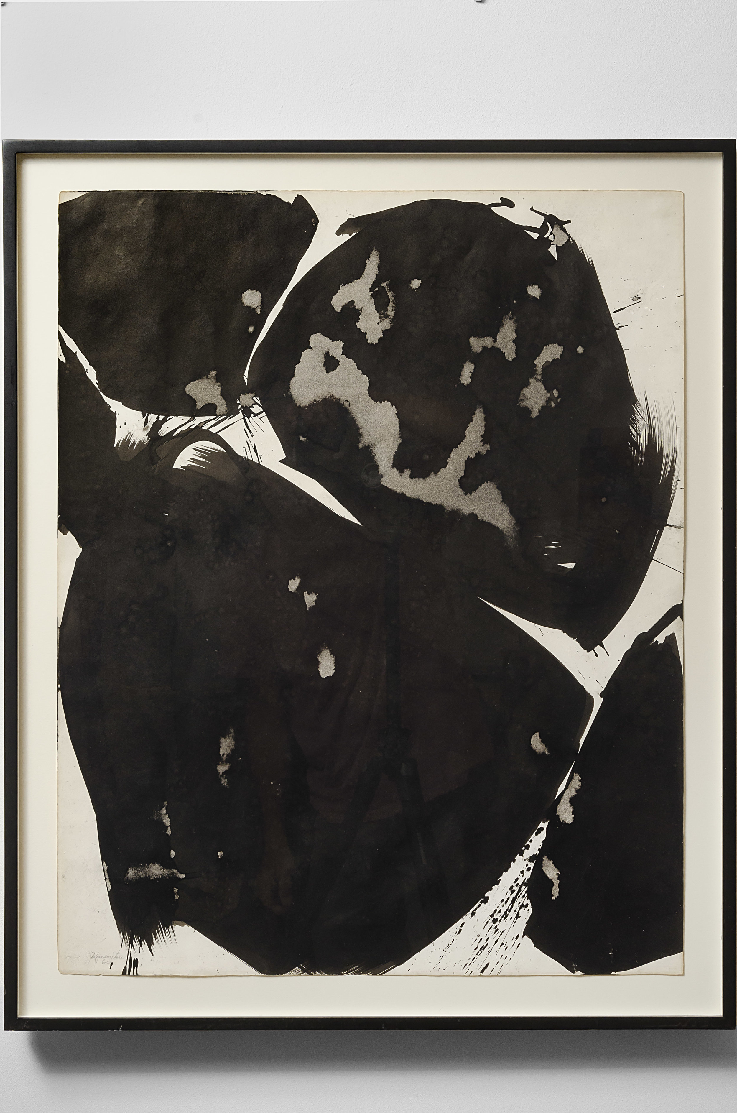 Summer #20 , 1960 sumi ink on paper 29 x 23 inches; 73.7 x 58.4 centimeters