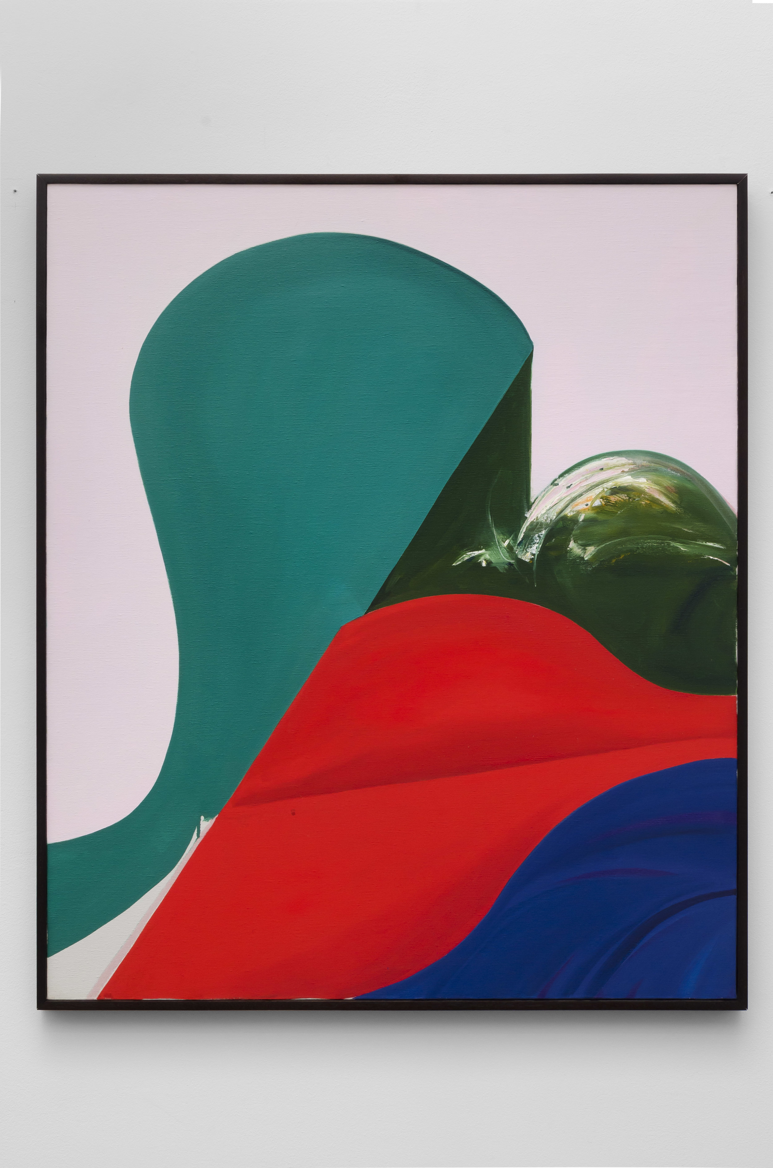 Untitled (C) , 1969 acrylic on canvas 35.75 x 30 inches; 90.8 x 76.2 centimeters